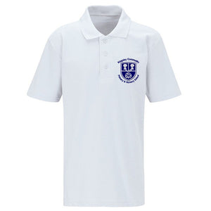 Kingsley Primary Polo Shirt White