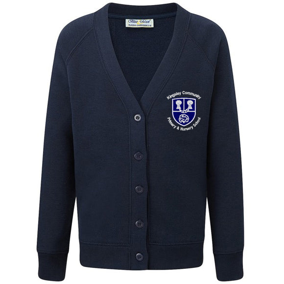 Kingsley Primary Cardigan Navy