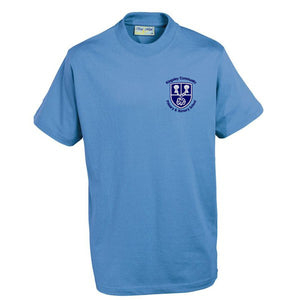 Kingsley Primary PE T - Shirt Sky