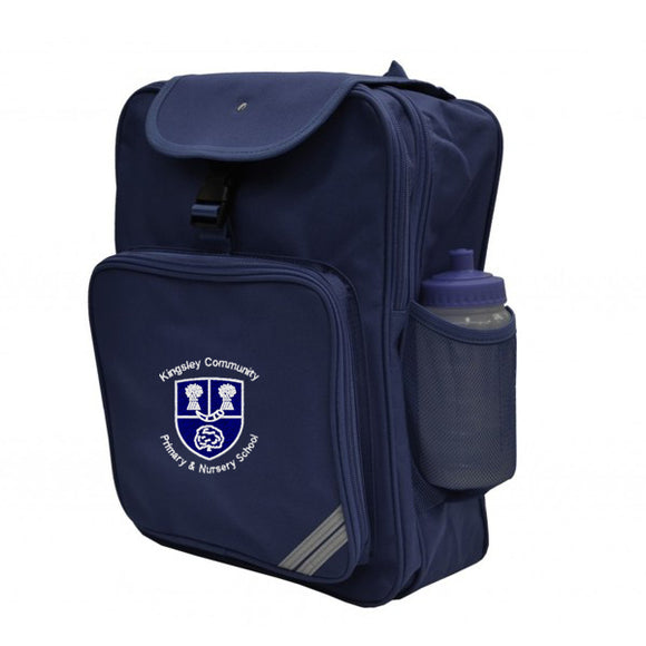 Kingsley Primary Backpack Navy