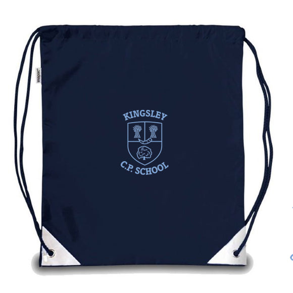Kingsley Primary PE Bag Navy