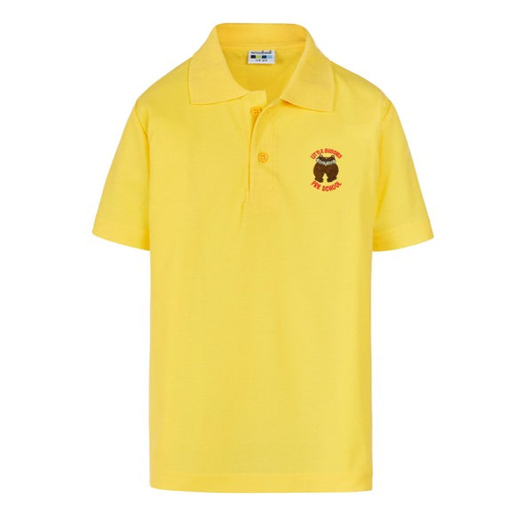 Little Buddies Pre School Polo Yellow