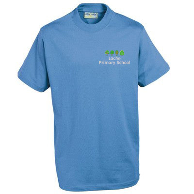 Lache Primary T - Shirt Sky