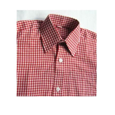 Gingham S/S Shirt Red