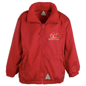 Mill View Primary Reversible Jacket Red
