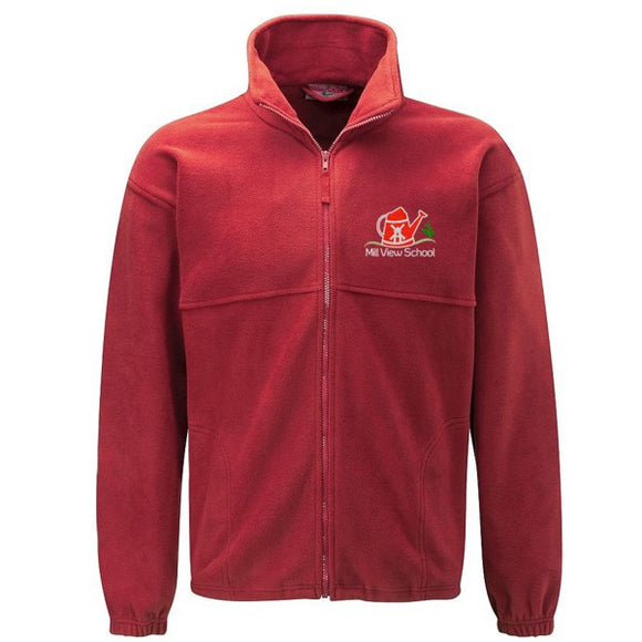 Mill View Primary Fleece Red