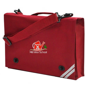 Mill View Primary Satchel Red