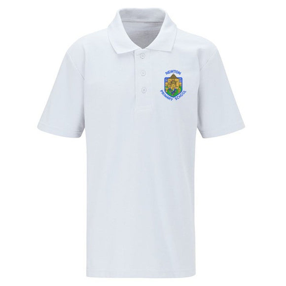 Newton Primary Polo Shirt White