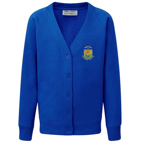 Newton Primary Cardigan Royal