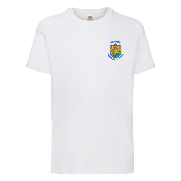 Newton Primary PE T Shirt White