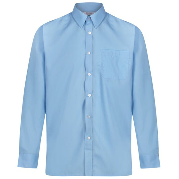 Long Sleeve Shirt (Twin Pack) Blue