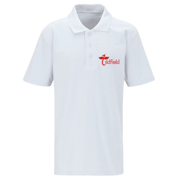 Oldfield Primary Polo Shirt White