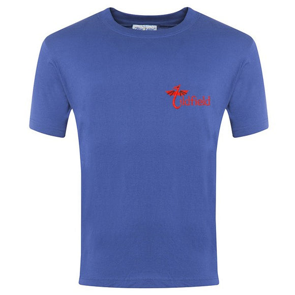Oldfield Primary PE T Shirt Royal