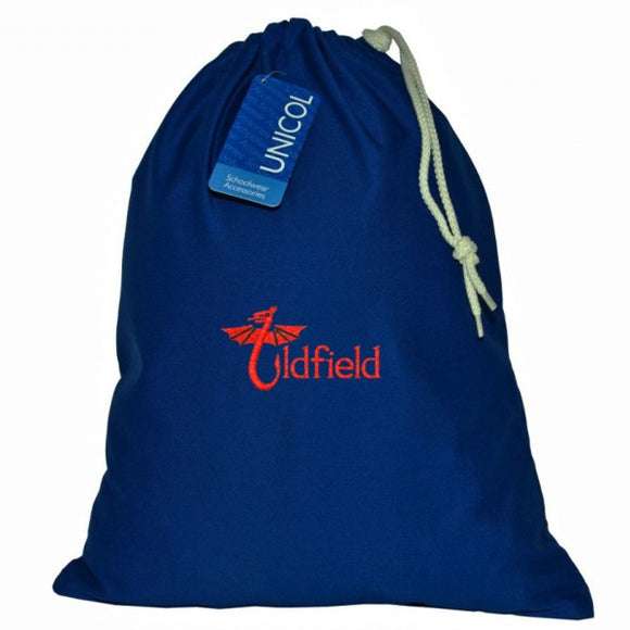 Oldfield Primary PE Bag Royal