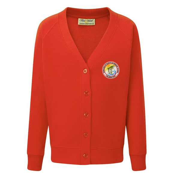 Overleigh Cardigan Red