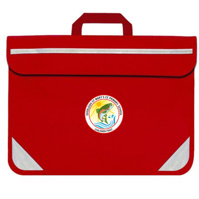 Overleigh Book Bag (Reception) Red