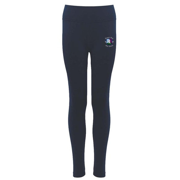 QPH *NEW* PE Leggings Navy / Silver