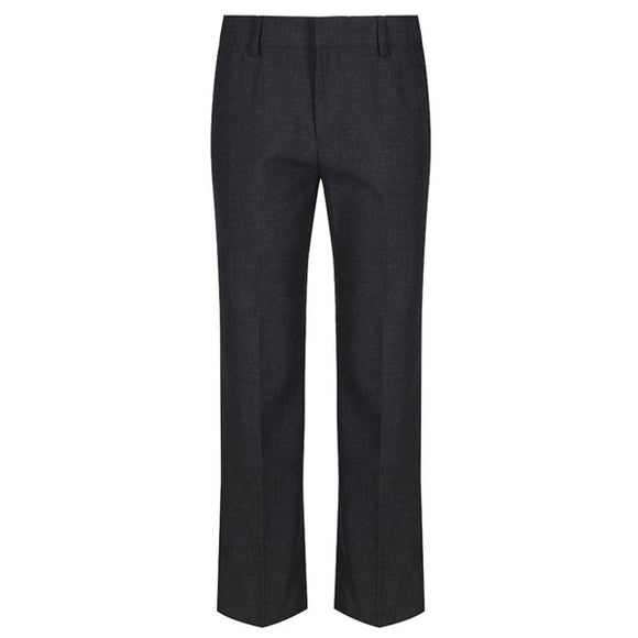 Boys Slim Fit Trousers Grey