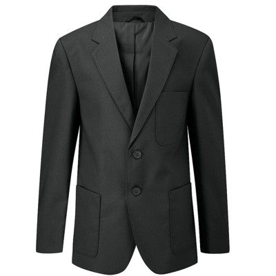 Boys Blazer Black No Logo