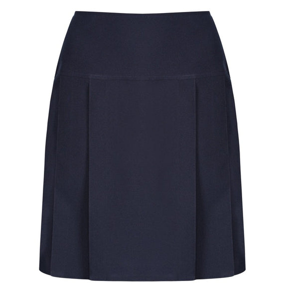 Pleated Skirt Navy
