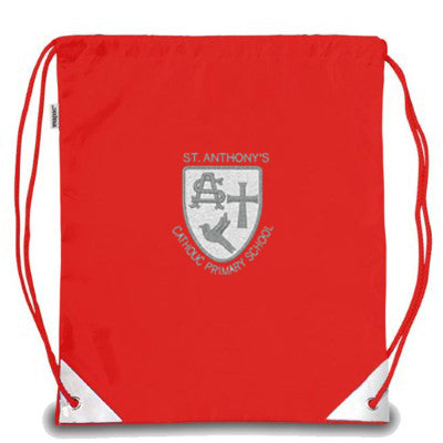 St Anthony's PE Bag Red