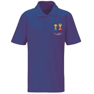 St Clare's Pre Polo Shirt Purple