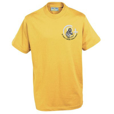 St Clare's T Shirt Yellow