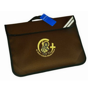 St Clare's Book Bag Brown