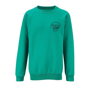 St Mary's Nursery Sweatshirt Jade