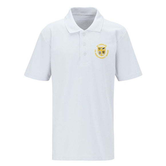 St Oswald's Primary Polo Shirt White