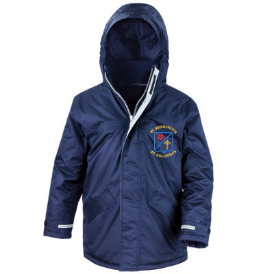 St Werburgh's Winter Parker Navy