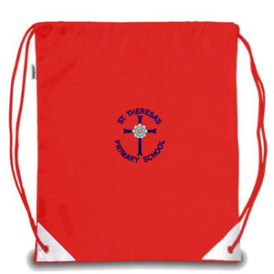 St Theresa's Kit Bag Red