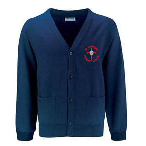 St Theresa's Cardigan Navy