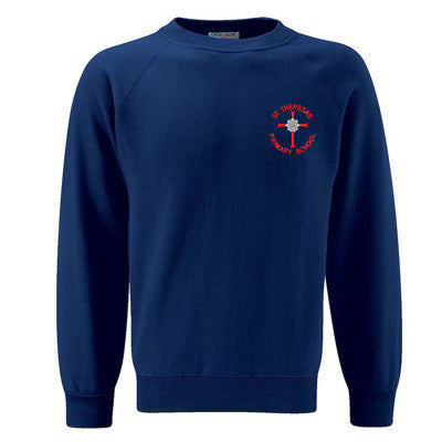 St Theresa's Sweatshirt Navy