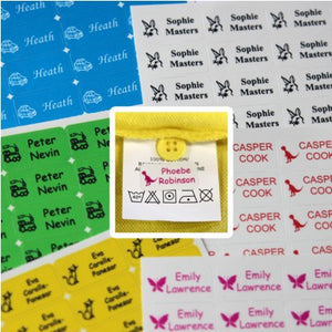Stick' n Wash Name Labels (60)