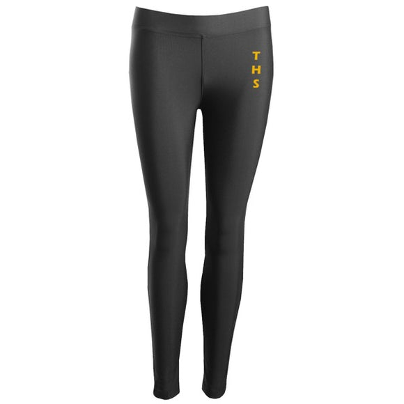 Tarporley High Leggings Black / Silver