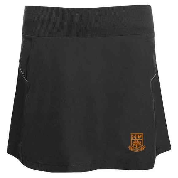 Tarporley High Skort Black / Silver