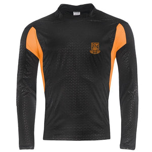 Tarporley High Rugby Shirt Black / Gold