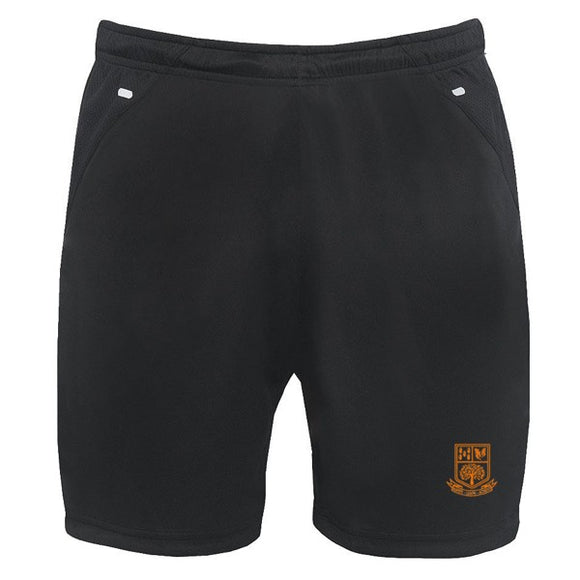 Tarporley High Shorts Black / Silver