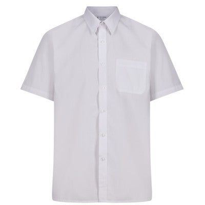Short Sleeve Shirt (Twin Pack) White