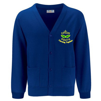 Upton Heath Cardigan (Compulsory) Deep Royal