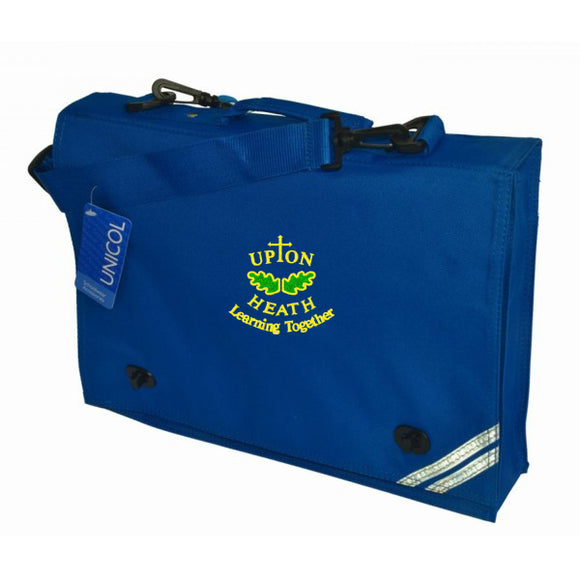 Upton Heath Book Bag Royal