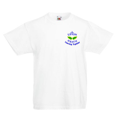 Upton Heath PE T Shirt (with logo) White