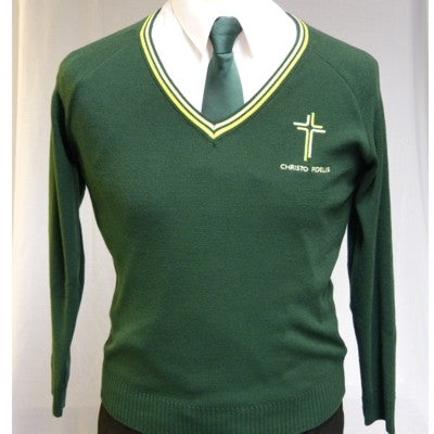 Catholic High Boys V Neck Sweater