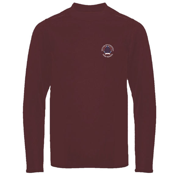 Upton-By-Chester Multisport Top Burgundy (AVAILABLE MAY)