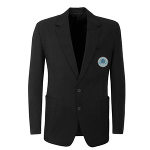 Upton-By-Chester Right Fastening Twin Vented Blazer Black