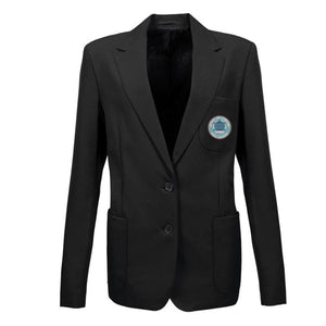 Upton-By-Chester Left Fastening Blazer Black (WITH HOUSE COLOUR)