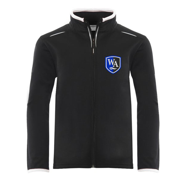 Weaverham Academy Sports Top Black / White