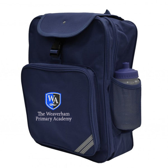 Weaverham Academy Backpack Navy