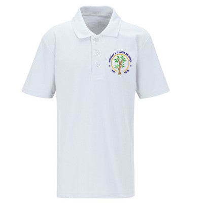 Whitley Village Primary Polo Shirt White